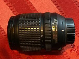 Nikon DX Zoom Nikkor 18-140 mm F/3.5-5.6 SWM AF-S VR DX ED G Objektiv