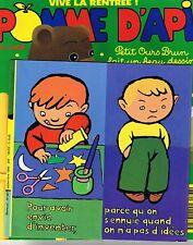 Pomme D'Api * n° 367 * 09 1996 revue enfant  magazine enfant ti michou papier