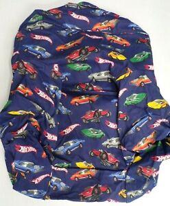 Pottery Barn Hot Wheels Twill Anywhere Chair Slipcover ONLY Regular Navy #7913U