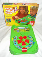Rare Vintage 1985 Where are the Animals? Game By Mattel