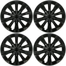 16 Black Set Of 4 For 2007 2020 Toyota Camry R16 Hub Caps Full Rim Wheel Covers Fits Toyota