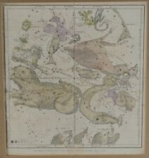 Burritt Huntington Celestial Map Oct Nov Dec From Elijah H. Buritt's Atlas 1835
