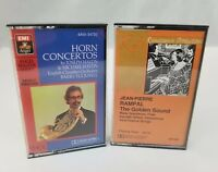 Classical Music Cassette Tapes Set of 2 Jean-Pierre Rampal & Joseph Haydn