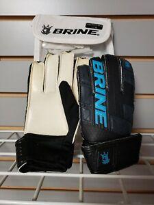 Brine Match 2x Junior GK Glove - Size 4 -   NEW