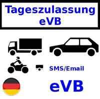 Tageszulassung Versicherung eVB DE SMS/@
