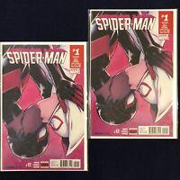 Spider-Man #12 Miles Morales & Spider-Gwen Kiss UNREAD NM (2) Copies