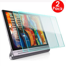 2X Pack Tempered Glass Screen Protector Lenovo YOGA Tab 3 10.1''inch (YT3-X50F)
