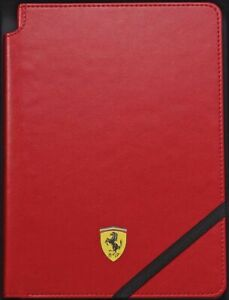 Cross Ferrari Journal, Crimson Red, 160 Lined Pages, Brand New, Sealed, No Pen