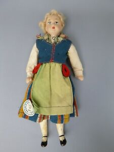 Vintage Martta Martha Turku Finland Doll