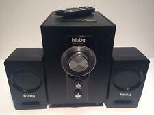 Frisby FS-6100BT Bluetooth Computer PC 2.1 Speaker Set w/ Remote Control