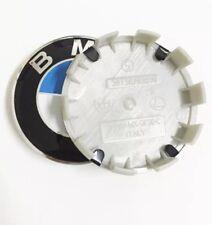 X 4 Cache Moyeu Jante Centre De Roue Enjoliveur Logo insigne BMW 68mm Neuf