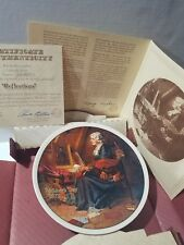 Norman Rockwell 1979 Mother'S Day Reflections Plate #14058A By Knowles