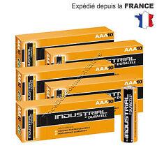 Piles DURACELL INDUSTRIAL LR03 AAA MN 2400 ALKALINE Neuve Lot de 50 !!