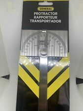 General Tools 17 Square Head Stainless Steel Angle Protractor 0 To 180 Degrees