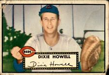 Dixie Howell 1952 Topps #135 Reds Poor 61140