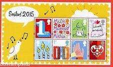 2015 Ms3678a Smilers Minisheet - No Barcode Margin.