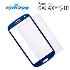 Cristal tactil pantalla Samsung Galaxy S3 i9300 i9305 AZUL + Lamina cola OCA