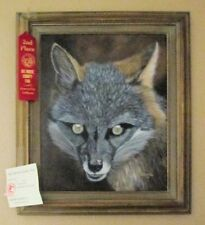Animal=FOX= An Orig. oil painting by Barella  2nd Place Winner No Frame included