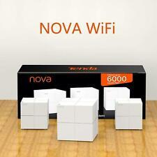 Tenda Nova MW6 (3 Pack) - Wi-Fi Mesh System UK Version - 6000 sq.ft coverage