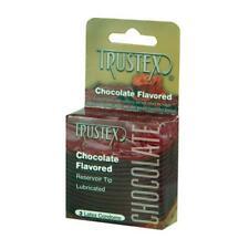 Trustex Flavored Condoms (Chocolate/3 Pack)