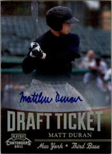 2011 Playoff Contenders Draft Ticket Autographs Baseball Card Pick