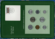 Coin sets of all nations East Germany w/c 1979 UNC 10 Pf 1981 5 Mark KM29 32,000