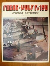Focke-Wulf Fw 190 chasseur bombardier, G Aders, Editions Atlas 1981