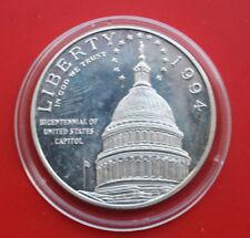 "USA-Amerika: 1994-S Silber Dollar, KM# 253, PP-PROOF, ""Capitol"", #F1807"