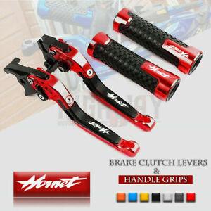 Folding Brake Clutch Levers & Handle Grips for Honda CB1000R NeoSportCafe 18-19