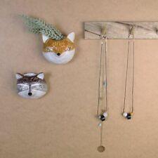Ceramic Mini Raccoon Head Wall Plaque,Kids Plant Pot Cover,Planter Gisela Graham