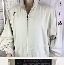 Nike Lebron James Track Jacket Signature Collection Full Zip Athletic Golf Sz XL