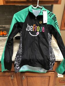 Pearl Izumi Mens Size Small Full Zip Windbreaker Jacket Cycling Logo JoeFroyo