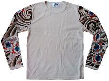 TATTOO MANICHE Designer Star Felpa Lungo T-Shirt Andrea Gallo/M