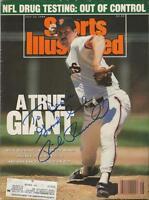 Rick Reuschel Signed July 10 1989 Sports Illustrated Full Magazine Giants