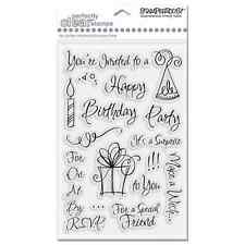 Stampendous -Clear Stamps- Party Invite #2697