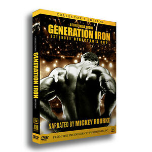 bodybuilding dvd GENERATION IRON