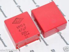 2pcs - WIMA MKS4 4.7uF (4.7µF 4,7uF) 250V 5% pitch:27.5mm Capacitor