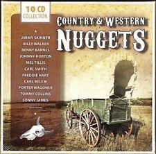 Country & Western Nuggets~Mel Tillis~Andy Doll~Various Artist~NEW 10 CD BOX SET