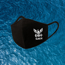 US Navy Face Mask  - Printed In USA - NAVY LOGO Face Mask 2