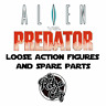 Vtg Aliens vs Predator Action Figures Spare Parts Accessories Weapons Kenner