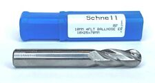 Schnell German Precision 4 Flute Solid Carbide Ball Nose End Mill