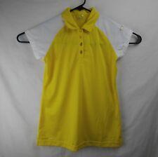 PING Golf Polo Shirt Yellow Women's Size Small