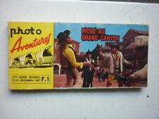 PHOTO AVENTURES /  NUMEROS  12  / PIEGES AU GRAND CANYON  / DECEMBRE 1967