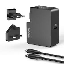USB C Wall Charger 60W Power Delivery UK EU Travel Adapter Plug Macbook Switch