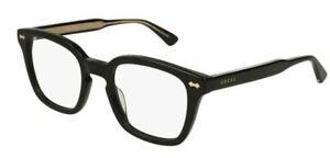 Gucci GG 0184 O 001 Black Eyeglasses
