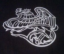 art stencil airbrush t-shirt template Mexican Eagle