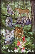 "GRENADA - 2005 MNH ""Wild Cats Of The WORLD"" Souvenir Sheet !!!!"