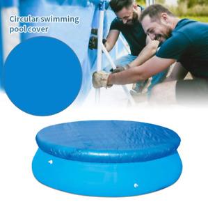 Rund Poolabdeckung planschbecken Abdeckung Abdeckplane Swimming Pool Cover