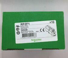 X1 BOX OF 10 RPZF1 RELAY SOCKET / HOUSING DIN RAIL 15A 250V