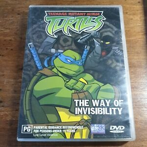 TMNT The Way of Invisibility DVD R4 Like New! FREE POST